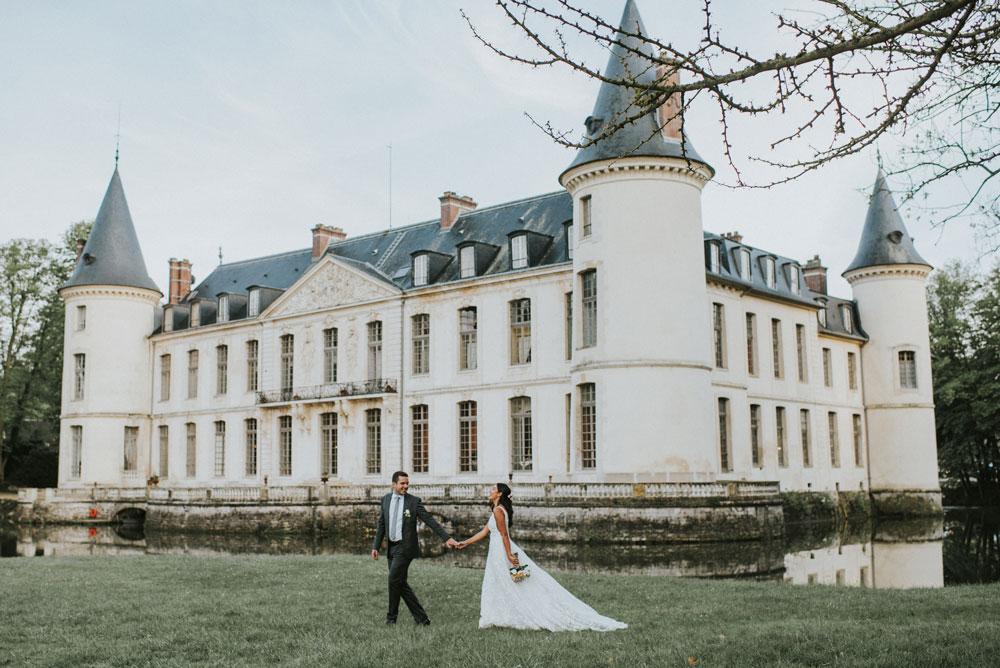 Elopement Château Paris Norte