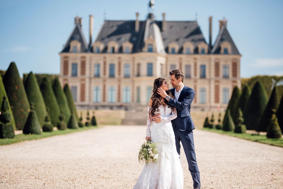 Elopement Château Paris Château