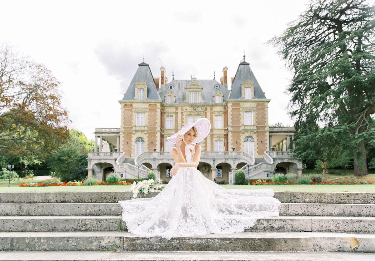 Elopement Château Paris Luxo